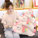Pastel Color Unicorn Stuffed Dolls Soft Plush Toys for Kids Christmas Gift,Home Decorators,[tags] - DeliteShopping