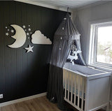3pcs Nordic Style Moon Cloud Star Kids Room Decoration 3D Wall Decor,Home Decorators,[tags] - DeliteShopping