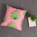 Soft Velvet Leaves Pillow Cover Case 40cm,Home Decorators,[tags] - DeliteShopping