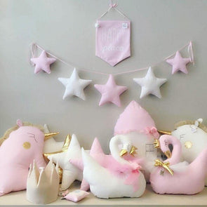 Nordic Style Nursery/ Kids Room Handmade Garlands Stars,,[tags] - DeliteShopping