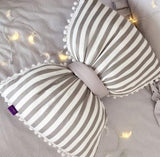 High Quality Bow Knot Ribbon Decorative Pillows,,[tags] - DeliteShopping