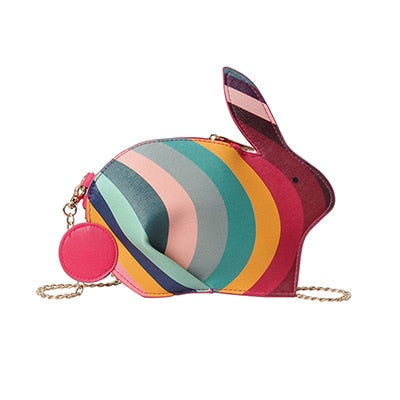 Stunning Rabbit Mini Chain Handbag,,[tags] - DeliteShopping