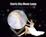 Starry Night Moon Shape Lamp Touch Light,,[tags] - DeliteShopping