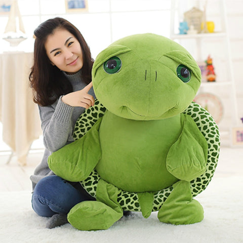 Large Cute Big Eyes Soft Tortoise Stuffed Toys For Kids,Home Decorators,[tags] - DeliteShopping