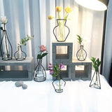 Creative Iron Line Vase Rack Minimalism Home Decor,Home Decorators,[tags] - DeliteShopping