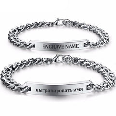Personalized Silver Bracelets For Loved Ones