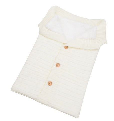 Newborn Baby Knitted Soft Blanket Sleeping Bag Sleeps Sacks,Home Decorators,[tags] - DeliteShopping