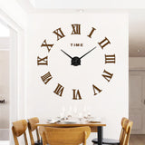 Trendy Large Modern DIY Wall Clock DIY Wall Stickers,Home Decorators,[tags] - DeliteShopping