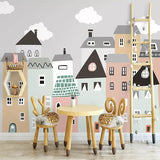Building Mural Wallpaper For Kids Room (5 materials available),Home Decorators,[tags] - DeliteShopping