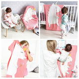 Handmade Unicorn Knit 3D Pastel Color Blanket For Baby Kids,Home Decorators,[tags] - DeliteShopping