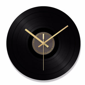 Elegant Retro Style Glass Record Modern Artistic Wall Clock,,[tags] - DeliteShopping