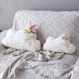 Nordic Style Cloud Pattern Soft Pillow Cushion For Newborns & Kids