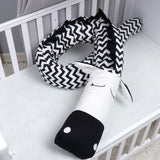 Creative Zebra & Unicorn Crib Bumper For Baby,,[tags] - DeliteShopping