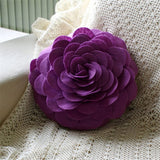Felt Rose 3D Cushion Decorative Throw Pillow (7 colors),,[tags] - DeliteShopping