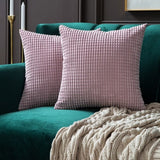 Soft Mono Color Decorative Square Throw Pillow Covers,Home Decorators,[tags] - DeliteShopping