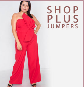 Shop Plus Jumpers Jumpsuits - BGG FASHION