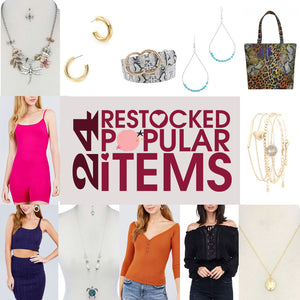 Restocked Popular Items - BGG FASHION