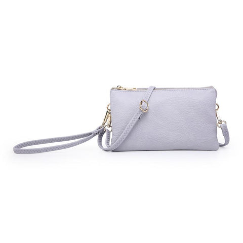 Compartment Wristlet/Crossbody in Lilac