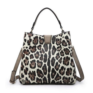 Hobo Bag in Snow Leopard