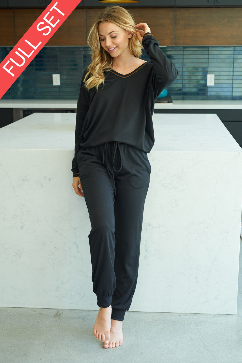 Loungewear Set in Black