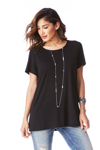 Boyfriend Top in Black