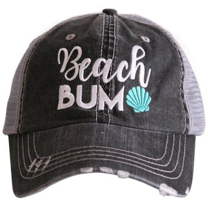 Katydid Beach Bum Trucker Hat in Mint