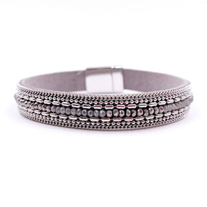 Magnetic Bracelet in Gray