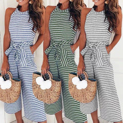 Striped Bow Romper CUSTOMER FAVORITE
