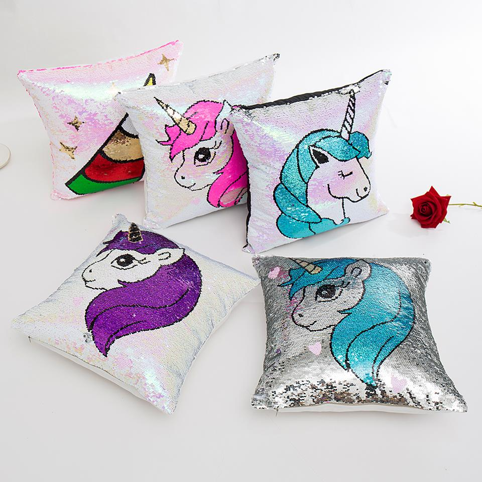 UNICORN MERMAID PILLOW COVER