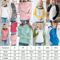 Laura Double Hooded Pullover