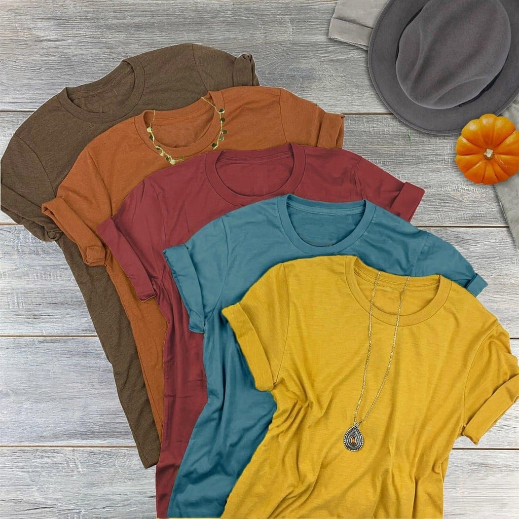 Fall Bella Canvas tee