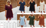 Erin short sleeve tunic dress