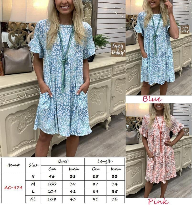 Terrie tunic pocket dress 19.99