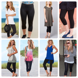 BASIC SPRING STAPLE Capri legging