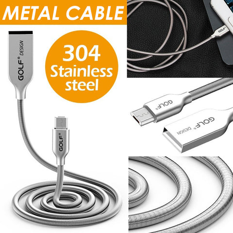 Micro USB Cable Metal Fast Charging