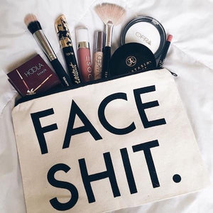 FACE SHIT Makeup Bag - Bubble vs. Gum