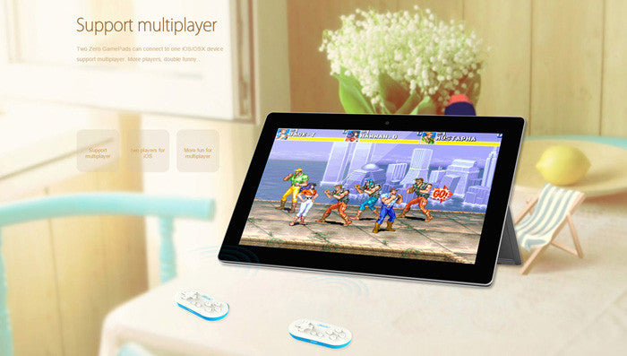 Classic Mini Bluetooth Game Controller for Phones, Tablets and PCs