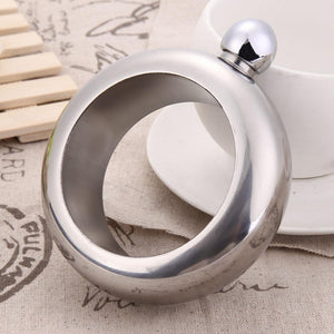 Creative Stainless Steel Flask Bracelet - Bubble vs. Gum