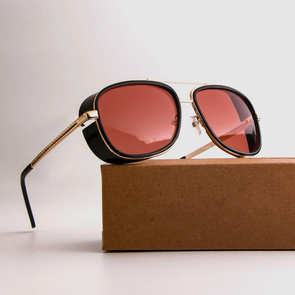 Retro Steampunk Goggle Sunglasses-Bubble vs Gum