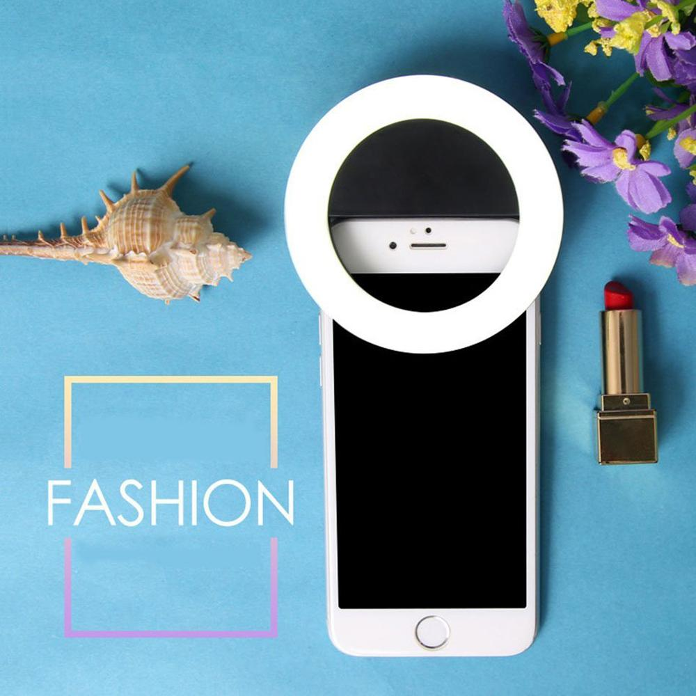 Portable and Rechargeable Selfie Enhancing Light Ring-Bubble vs Gum