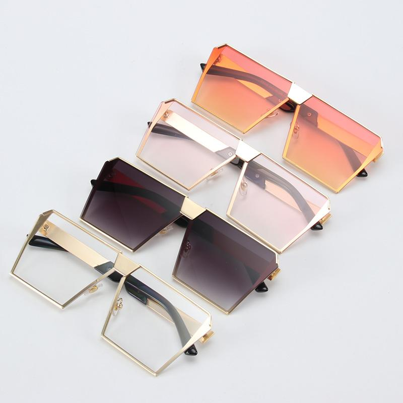 Retro Oversized Square Sunglasses (17 Styles)-Bubble vs Gum