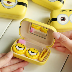Minions Contact Lens Travel Kit for Home or Travel-Bubble vs Gum
