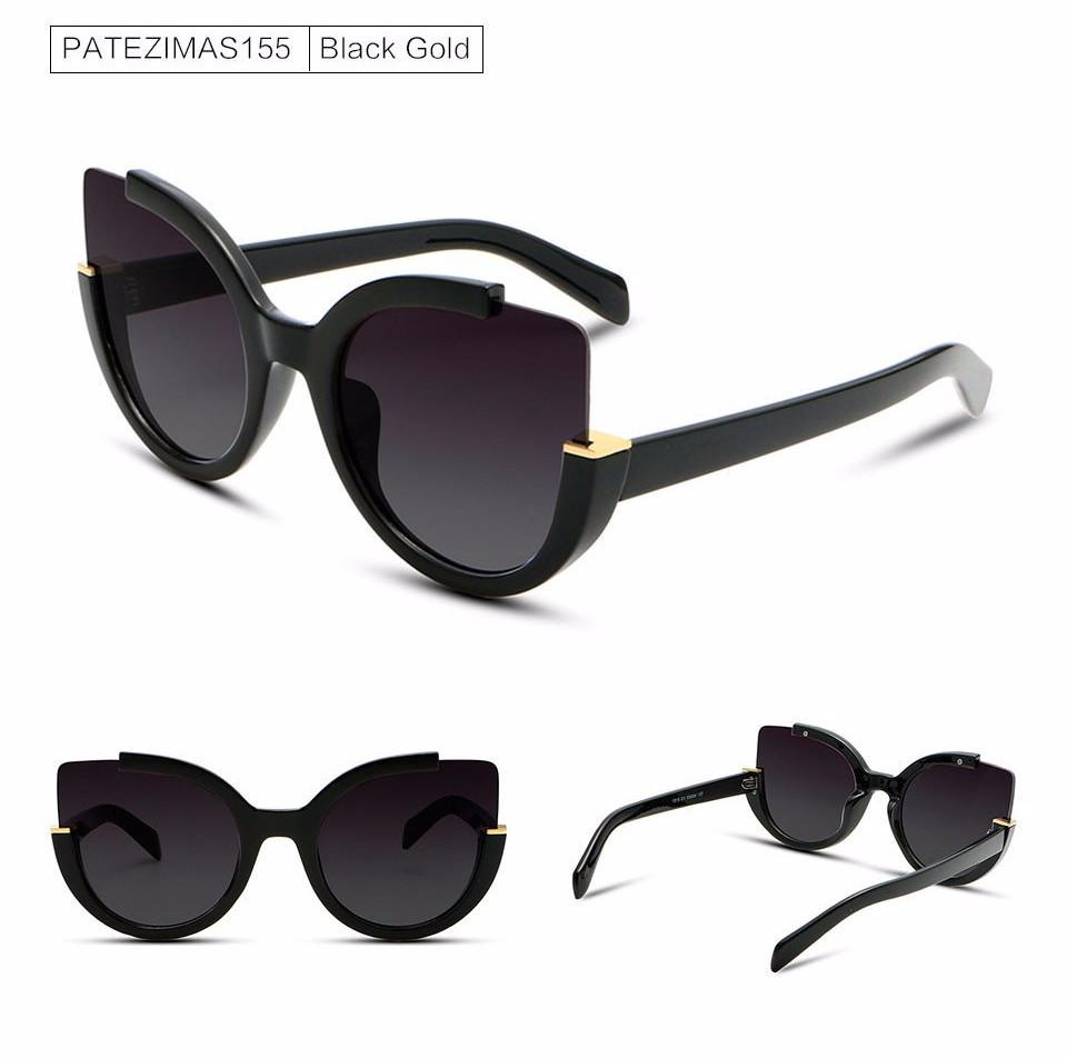 Charming Cat Eye Sunglasses - Bubble vs. Gum