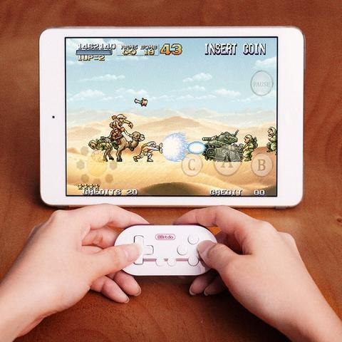 8Bitdo Mini Bluetooth Game Controller for Phones, Tablets and PCs - Bubble vs. Gum