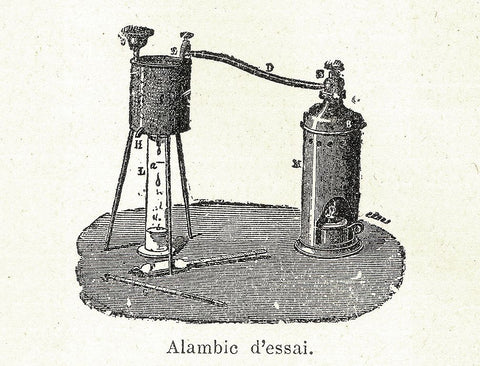 Alembic Still for Distillation