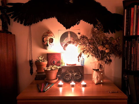 Evening Dream Altar, photo credit: Mary Dwyer