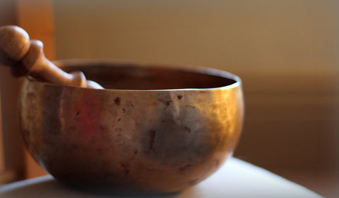 Singing Bowl by Suzanne Schroeter