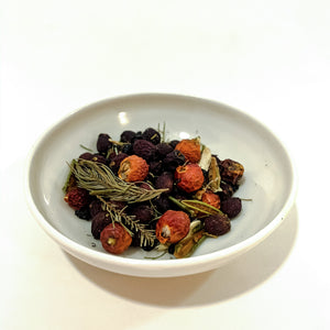 Hawthorn Rose Tea Forest Heart Botanicals