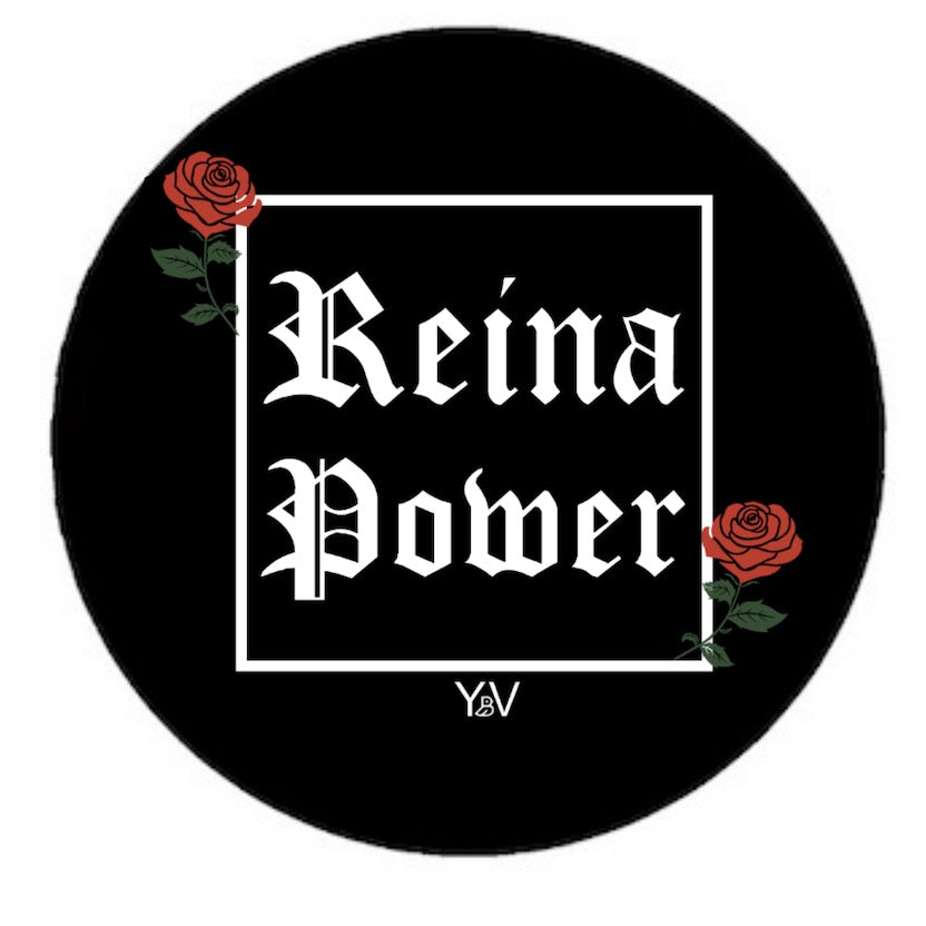 'Reina Power' Black Phone Grip