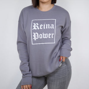 'Reina Power' Sweatshirt Grey